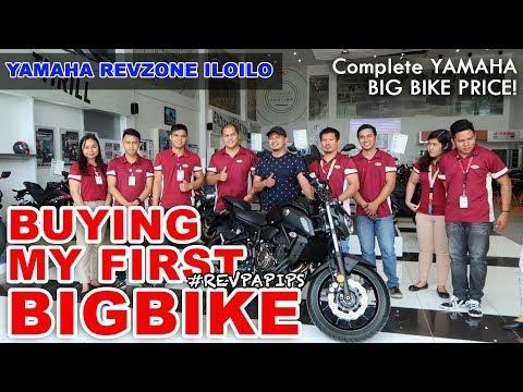 YAMAHA BIG BIKE PRICE 2019 | BUYING YAMAHA MT-07 at REVZONE ILOILO
