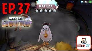 ANGRY BIRDS EVOLUTION - MATILDA (5 STARS WHITE)X22-HATCHING 110+ PREMIUM EGGS-WHITE EXCAVATION&BRAWL