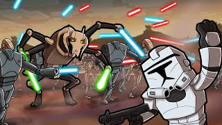 Play CLONE WARS in Minecraft! (Star Wars Clone Wars)