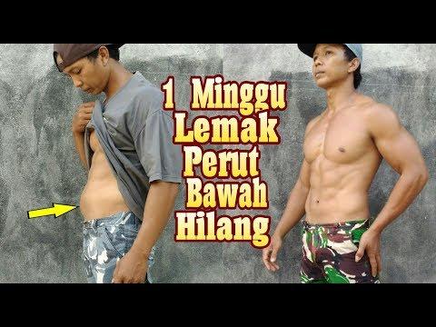 7 latihan untuk video penurunan berat badan