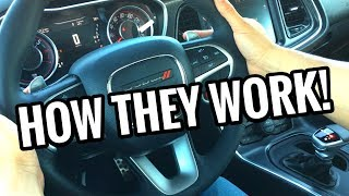 PADDLE SHIFTERS: How They Work Explained!