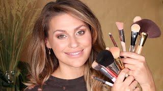 Schminkpinsel Anleitung - welcher Pinsel wofür   Makeup für Anfänger   Vicky Lash