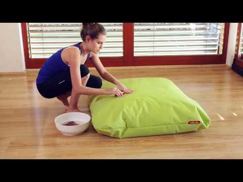 Video Tuli Sedací vak Relax Provedení: 115 - růžová - polyester bez vnitřního obalu 2