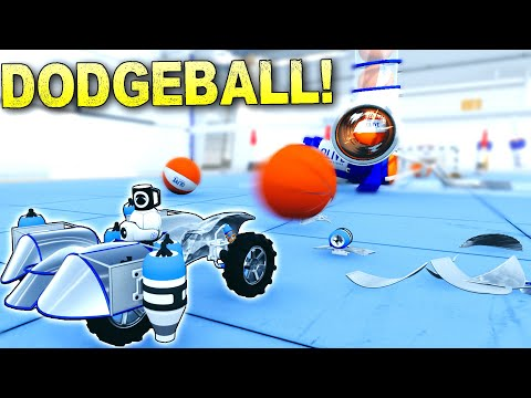 Destruction Physics Shines In This Dodgeball Challenge! - Main Assembly Gameplay