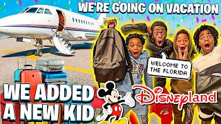 WE ADDED A NEW KID & WE'RE GOING ON A SPRING BREAK VACATION!✈️