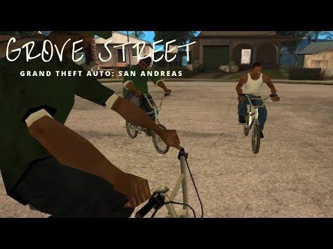 Grand Theft Auto: San Andreas - Grove street   #01