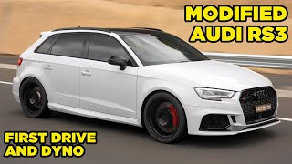 MODIFIED RS3 Hyper-Hatch // First Drive Reaction and Dyno