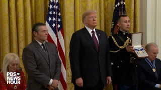 WATCH LIVE: President Trump to award Medals of Freedom to Babe Ruth, Elvis and more