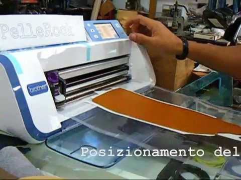 brother scanncut pelle leather 2mm