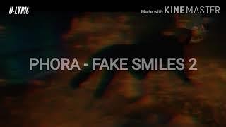 PHORA - FAKE SMILES 2 [SUBTITULOS ESPAÑOL & LYRICS]
