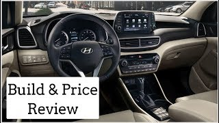 2019 Hyundai Tucson Limited - Build & Price Review: Features, Colors, Interior, Configurations