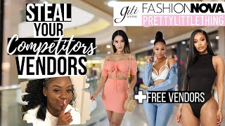 TIPS FOR FINDING VENDORS FOR YOUR BOUTIQUE | HOW TO STEAL VENDORS