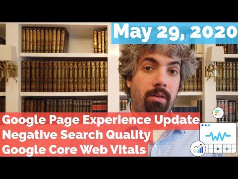 Atualização da experiência da página do Google, atualização mais baixa, recursos vitais para a web e muito mais 1