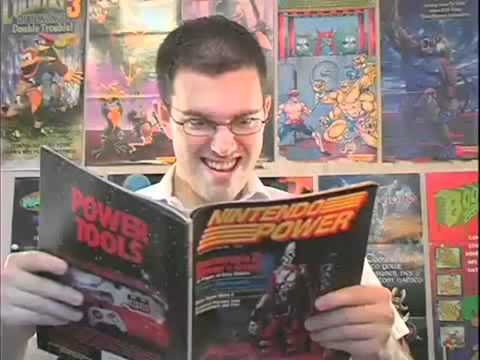 Angry Video Game Nerd №33 - Nintendo Power(RUS)