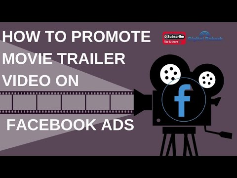 How to promote movie trailer and teaser video on facebook Ads