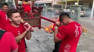 2019年吉兰丹哥打峇鲁唐人坡元宵节过火仪式小插曲