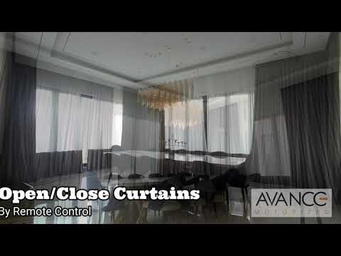 Avance Motorized Curtain System