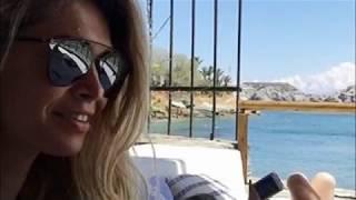 Вера Брежнева с дочкой в Греции поразила