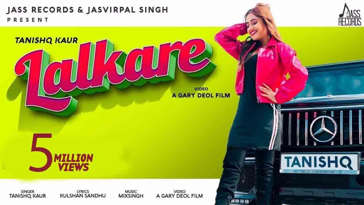 Lalkare Lyrics by Tanishq Kaur