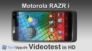 Motorola RAZR i   Test in HD (deutsch)