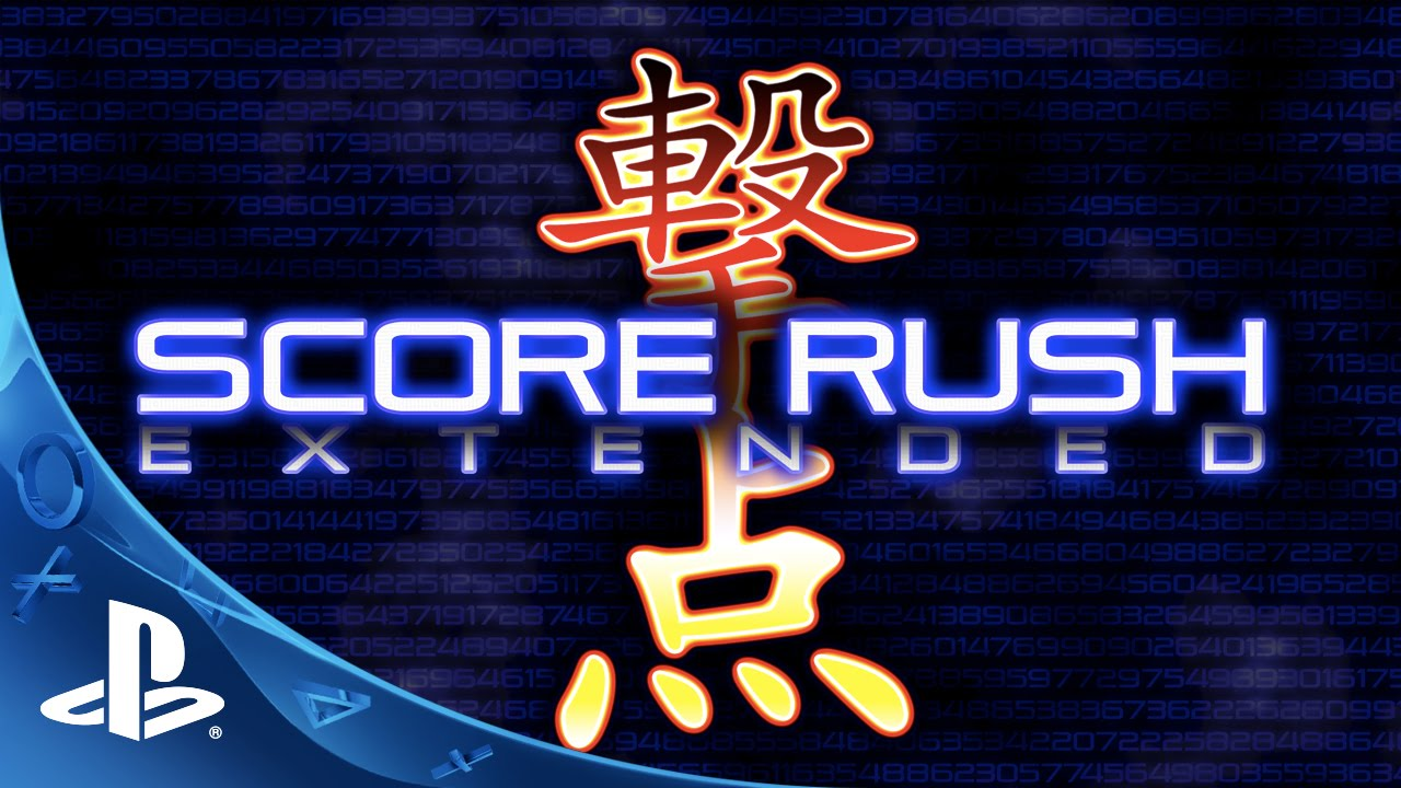Score Rush Extended Brings Pure Shmup Bliss to PS4 on May 31