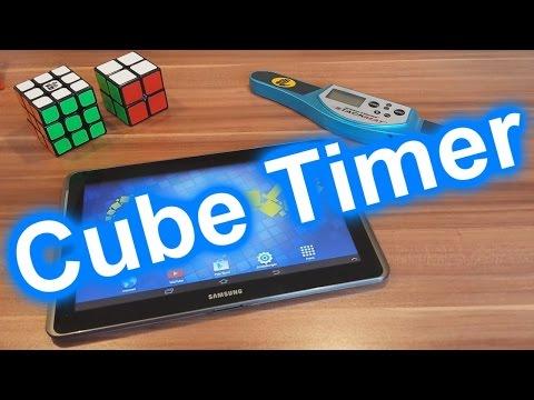 Speedcubing Timer   Stoppuhr    Zauberwürfel   BoaToX