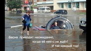 Потоп в Вологодской области