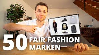 Ich habe 50 FAIR FASHION Marken für euch recherchiert !