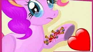 Пони игры. Пинки Пай сломала руку. Играем в доктора и делаем операцию. My little pony игра