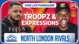 North London Rivals Fired Up For The NHS Troopz x Expressions | Football Fans For The NHS