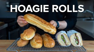 How To Make Proper Hoagie Rolls At Home