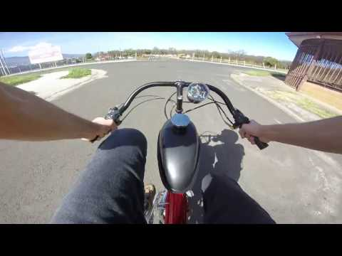 Motorized Bicycle - Ride to the super market