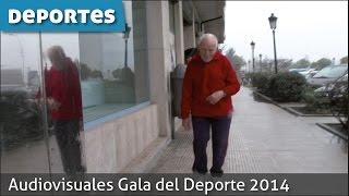 Audiovisuales Gala Deporte 2014.