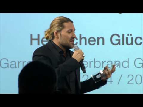 David Garrett - Awarded Superbrand Germany 2015 Personality