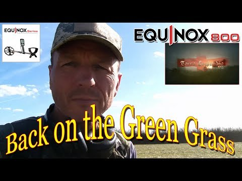 Metal Detecting UK - Back on the Green Grass