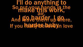 JLS Go Harder Lyrics (Full HD)