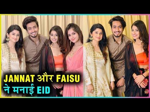 Jannat Zubair And Faisu Celebrate Eid Together Wit