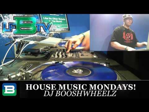 "DJ BooshWheelz on LFBTV ""I Love House Music Mondays"""