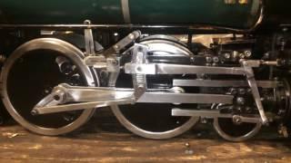 Timing Walschaert Valve Gear on a live steam locomotive