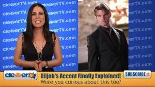 The Vampire Diaries Mystery of Elijah's Accent Solved!
