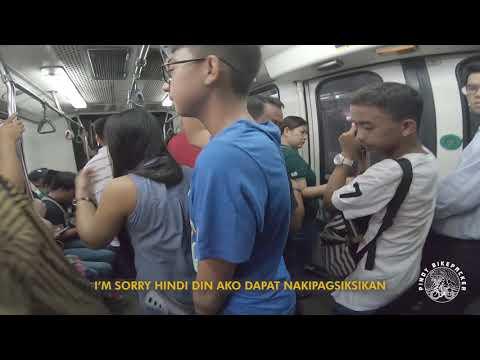 Folding Bike Commuting in Metro Manila