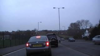 preview picture of video 'Driving Along Stopgate Lane, Long Lane & Hall Lane, Liverpool 18th February 2011'