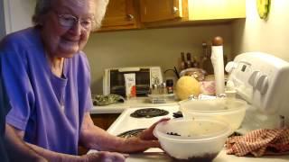 Grandma Cook's Huckleberry Pie Recipe. Hot Springs, Montana