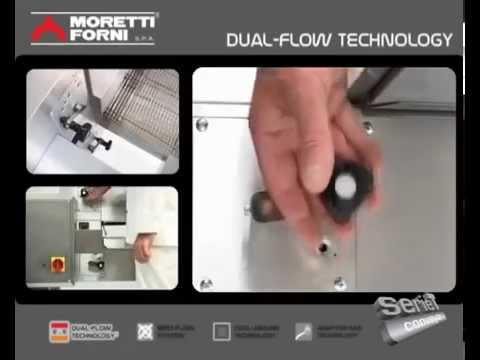 video 1, Four convoyeur gaz tapis 50 cm 25-50 pizzas/heure