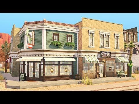 Strangerville Bar & Gym || The Sims 4: Speed Build