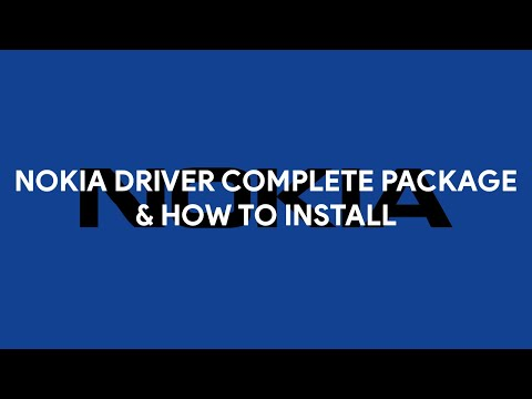 Nokia Driver Complete Package & How To Install - [romshillzz]