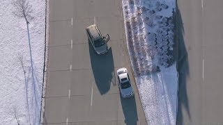 RAW VIDEO: Entire high speed chase of carjacking suspect through Denver metro area