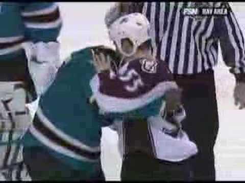 Mike Grier vs. Cody McLeod