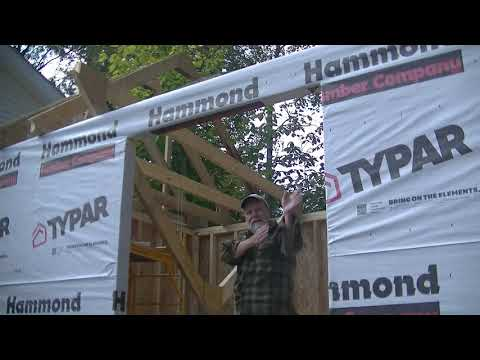 , title : '#48 Working Alone to Raise Trusses for the New She Shed