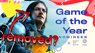 Were IGN Awards Rigged to Leave Out Death Stranding? - Inside Gaming Daily